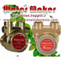 Procon Pump 102A125F11XX Clamp On membrane indonesia  large