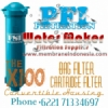 d d FSI X100 Convertible Bag Filter Cartridge Housing Polypropylene Membrane Indonesia  medium